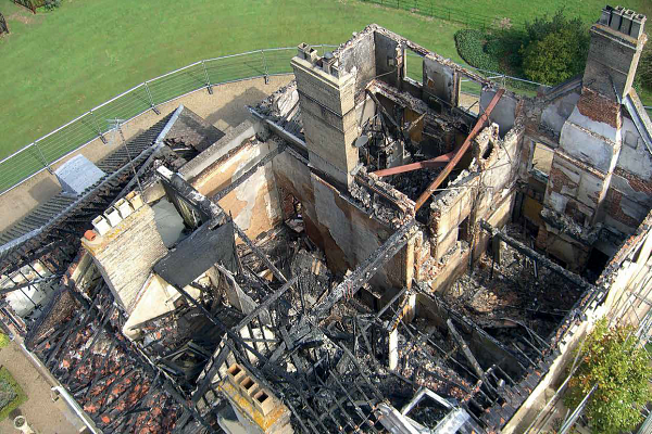 Hickling Hall post fire 2015