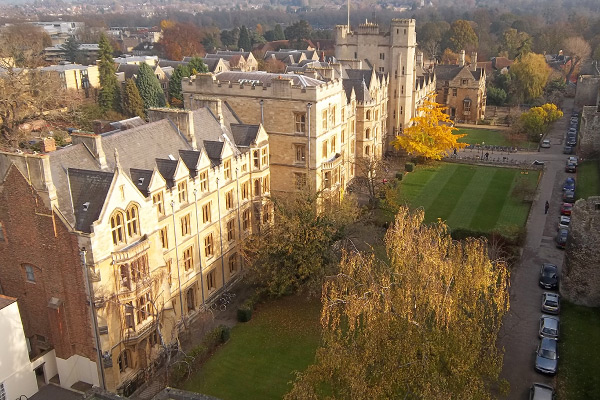 New College Oxford - Exterior